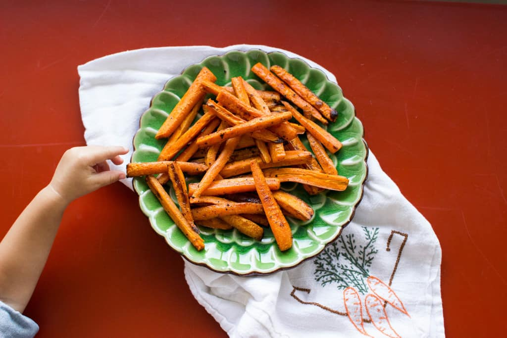 carrot fries isla stop eating